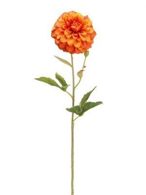 "18"" Dahlia Spray Orange Rust"