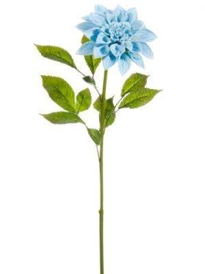 """26"""" Dahlia Spray Baby Blue"""