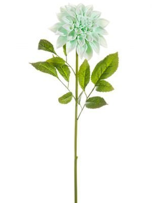 "26"" Dahlia Spray Seafoam"