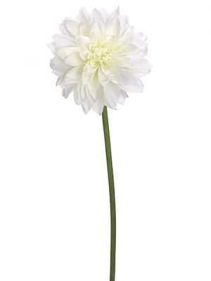 "19"" Dahlia Spray  White"