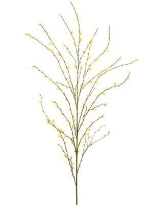 "51"" Genista Flower Spray Yellow"