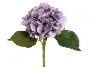 "19"" Hydrangea Spray with Water-Resistant Stem Antique Lavender"