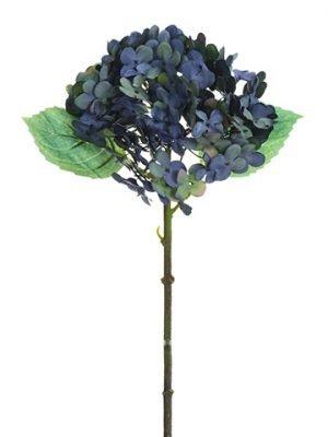 "13.5"" Hydrangea Spray Blue"