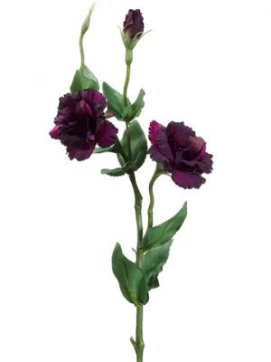 """25"""" Lisianthus Spray withWater-Resistant StemTwo Tone Violet"""