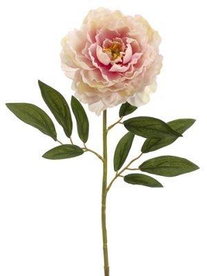 """29"""" Peony Spray Rose Cream"""