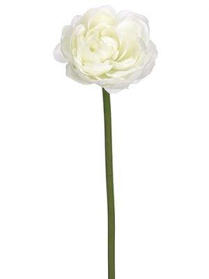 "19"" Ranunculus SprayWhite"