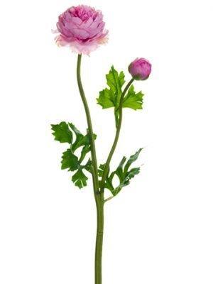 "18.9"" Ranunculus Spray Pink"