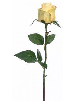 "17.5"" Rose Bud Spray Yellow"