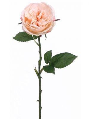 "20.5"" Rose Spray Pastel Apricot"