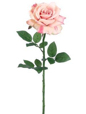 """26"""" Diana Rose Spray Pink Salmon"""