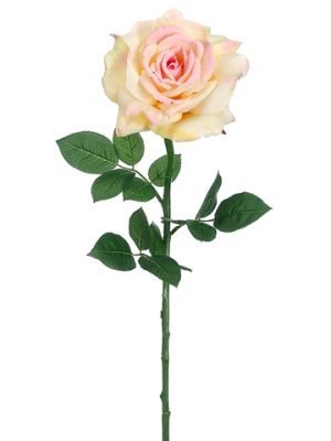 "26"" Diana Rose Spray Pink Yellow"