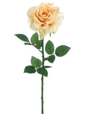 """26"""" Diana Rose Spray Yellow"""