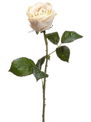 "22"" Large Rose Bud Spray Beige"