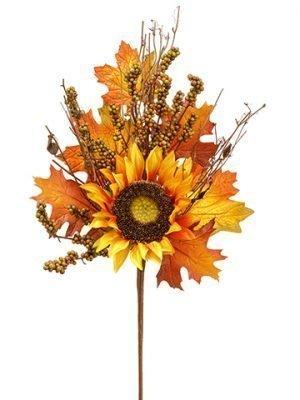 "22"" Sunflower/Berry/TwigSprayFall"