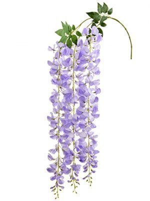 "48"" Wisteria Hanging Spray  Amethyst"