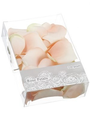 "2""H x 5.25""W x 7.5""L Rose Petal (250 ea/acetate box) Blush"