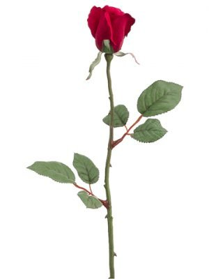 "26"" Large Rose Bud Spray x1 Red"