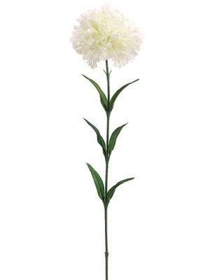 """25"""" Carnation Spray White"""