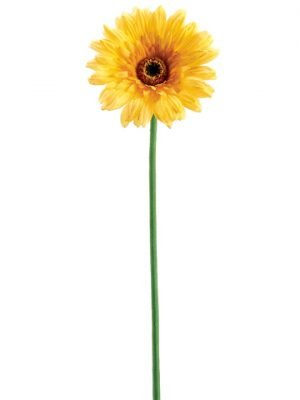 "24"" Real Touch Gerbera Daisy Spray x1 Yellow"