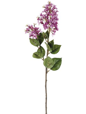 """28.5"""" English Lilac Spray Two Tone Lilac"""