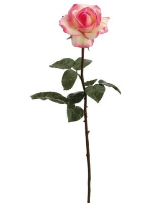 "27"" Real Touch Caroline RoseSprayCream Pink"