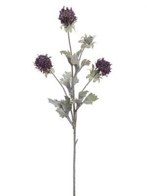 "24"" Mountain Straw Spray Purple"
