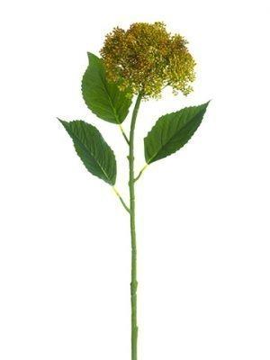 "28"" Hydrangea Berry Spray Yellow"