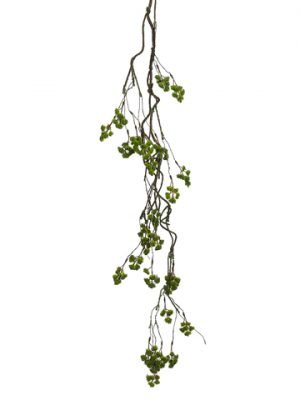 "48"" Mini Blossom Hanging Spray Green"