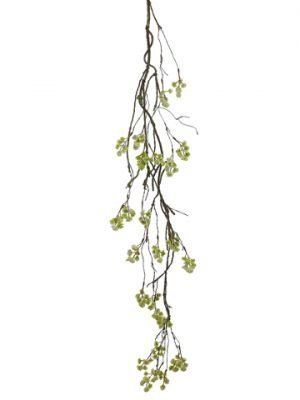 "48"" Mini Blossom Hanging Spray White"
