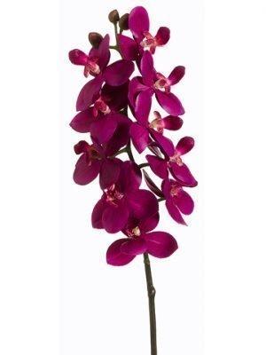 "18.5"" Small PhalaenopsisOrchid SprayViolet"