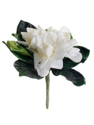 "5.5"" Gardenia BoutonniereWhite"