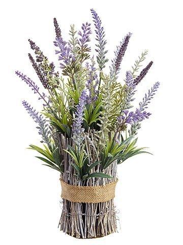 """12"""" Lavender Standing Bundle Lavender Green"""
