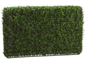 "24""H x 7""W x 36""L Boxwood Hedge Two Tone Green"