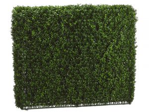 "33""H x 8""W x 39""L Boxwood Hedge Two Tone Green"