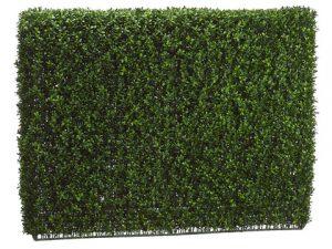 "36""H x 9""W x 46""L Boxwood Hedge Two Tone Green"
