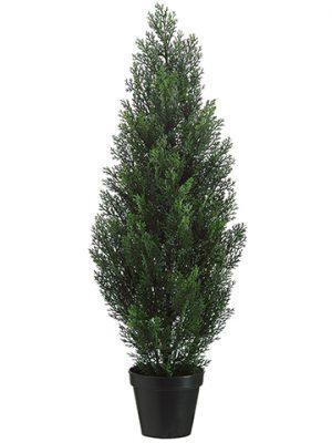 """36"""" Cedar Topiary in PlasticPotGreen"""