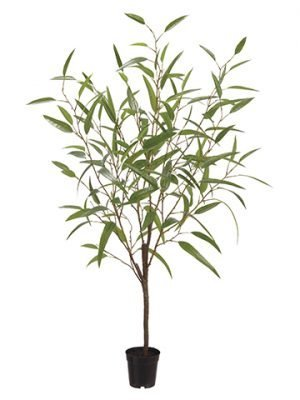 "48"" Bamboo Tree in Plastic Pot Green"