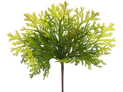 """11"""" Soft Plastic Spring CedarBushTwo Tone Green"""