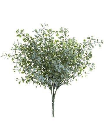 "11"" Mini Eucalyptus Bush Green Gray"