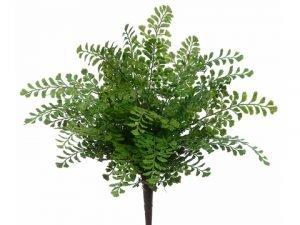 """16"""" Maidenhair Fern Bush Green"""
