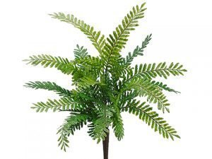 "18"" Fish Bone Fern Bush Green"