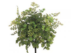"""16"""" Maidenhair Fern Bush Light Green"""