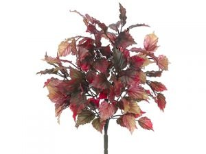 "16"" Mini Coleus Leaf Bush x5With 126 LeavesMustard Orange"