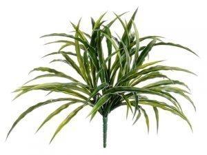"""13"""" Grass Bush Green White"""