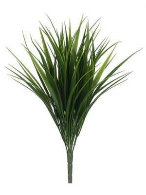 "18"" Grass Bush x10 Green"