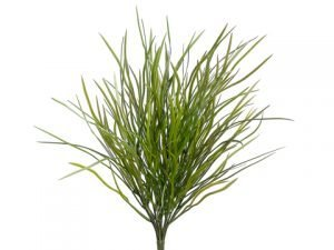 "18"" Wild Willow Grass Bush with 204 Leaves Green Brown"