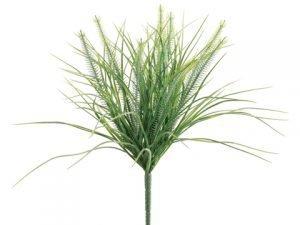 """13"""" Monkey Grass Bush x12 Two Tone Green"""