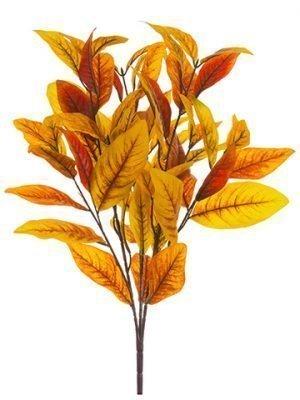 """26"""" Magnolia Leaf Bush Fall"""