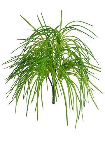 "10"" Soft PE Grass Bush Green"