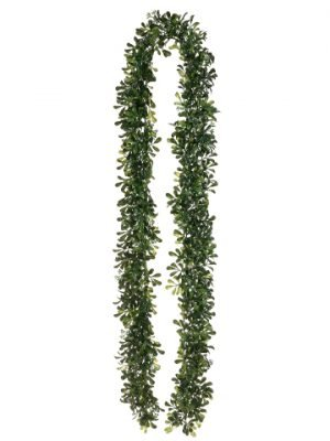 6' Boxwood Garland Green Two Tone